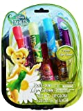 Disney Fairies Roll-On Lip Gloss - 7 Pack Lip Gloss with 5 Unique Flavors