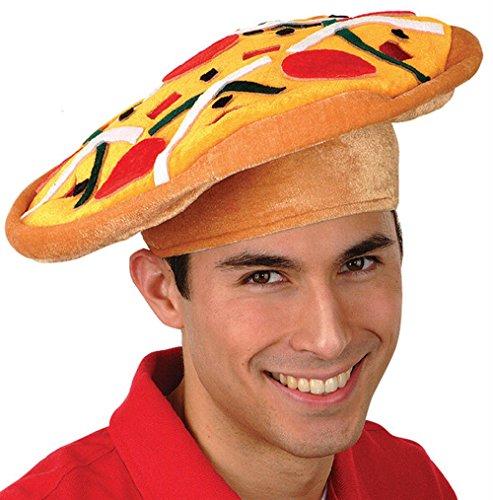 Italian Pizza Hat Party Accessory (1/pkg) Pkg/3