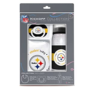 Buy Baby Fanatic NFL Pittsburgh Steelers Baby Fanatic Baby Fanatic Gift Set by BaFanatic