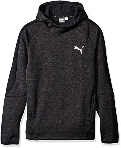 PUMA Men's Evostripe Proknit Hoody, Cotton Black Heather, X-Large