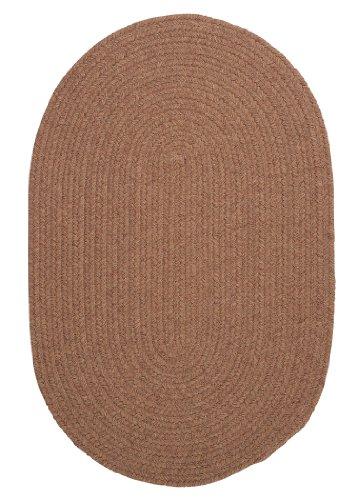 Bristol Polypropylene Braided Rug, 4-Feet by 6-Feet, Mocha