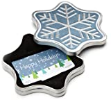 Amazon.com Snowflake Gift Card Tin - $50