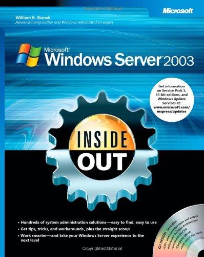 Microsoft® Windows Server™ 2003 Inside Out (Windows Server 2003 compare prices)