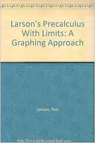 Larson precalculus pdf