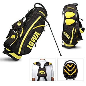 Brand New Iowa Hawkeyes NCAA Stand Bag - 14 way by Things for You