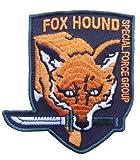 Metal Gear Fox Hound Foxhound Special Force Original Logo embroidered aufnäher patch