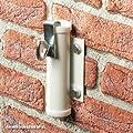 Videx-Sonnenschirmhalter für die Wand, weiß, Ø 25mm von Videx bei Gartenmöbel von Du und Dein Garten