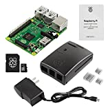 Raspberry Pi 2 Basic Starter Kit with Latest Version Raspberry Pi 2 + black Case + Power Supply + Original Preloaded 8GB SD Card noobs