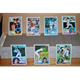 1983 Topps Baseball Complete Set (792 Cards) (Tony Gwynn, Ryne Sandberg, Wade Boggs Rookie Cards)