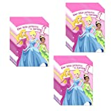 Disney Princess 1st Birthday Party Invitations - 24 Guests