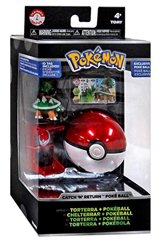 [Pokemon Trainer's Choice Catch n Return Pokeball Torterra & Poke Ball Figure Set] (Slowpoke Costume)