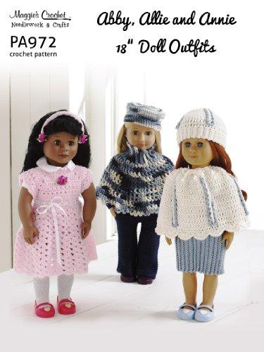 Crochet Pattern Abby, Allie & Annie PA972-R