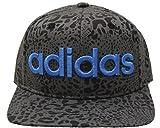(アディダス)adidas レオパードプリントベースボールキャップ(BBキャップ)