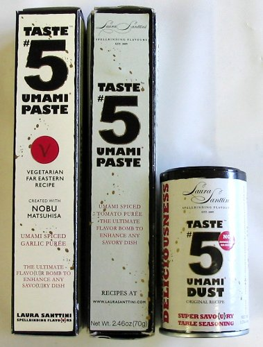 Taste #5 Umami Sampler (Set of 3 Taste #5 Umami