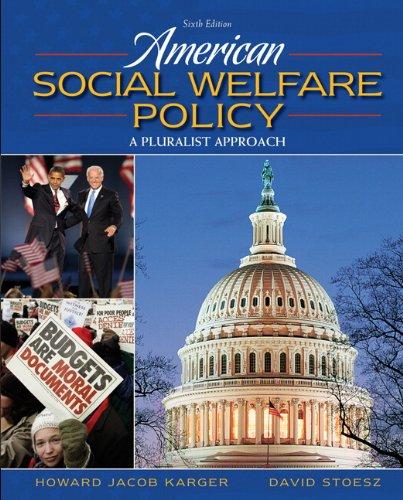 American Social Welfare Policy (6th Edition)