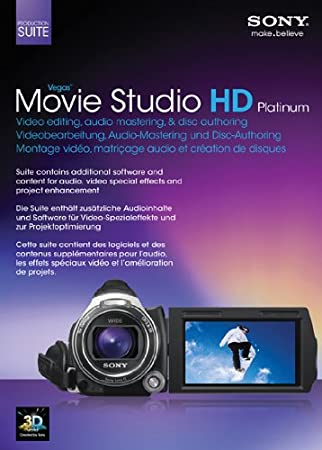 Sony Vegas Movie Studio HD Platinum Suite 11