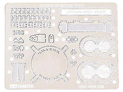 Tamiya - 12610 - Accessoire Pour Maquette - Photo Découpe Epson Nsx