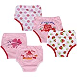 Dimore Baby Toddler 5 Pack Cotton Training Pants (L, Girl)
