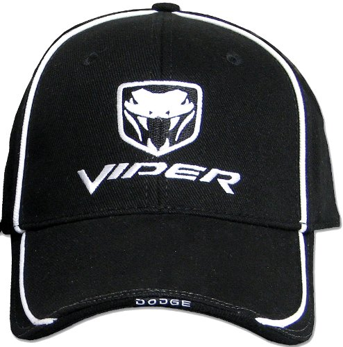 dodge-viper-fine-embroidered-hat-cap-solid-black