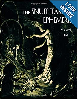 Amazon.com: The Snuff Taker's Ephemeris (Volume 5