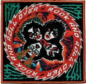 Kiss Rock Music Band Patch - Rock N Roll Over Logo