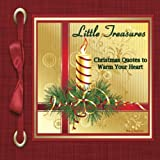 img - for Little Treasures: Christmas Quotes to Warm Your Heart book / textbook / text book