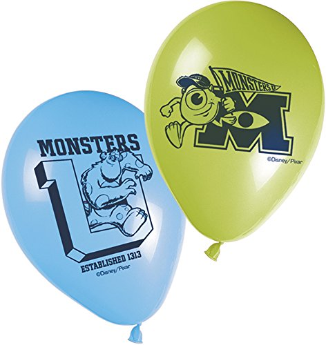 Disney Monsters University Printed Balloons, Multi Color