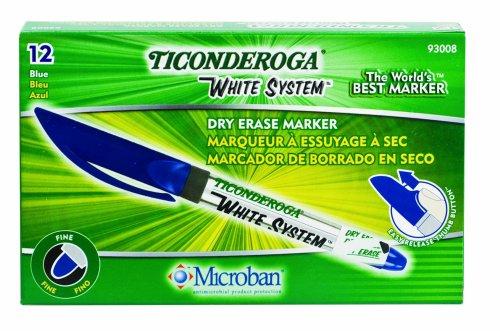 ticonderoga-blanco-marcadores-de-borrado-en-seco-de-sistema-punta-fina-azul-una-docena-93008