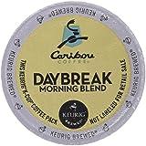 Caribou Daybreak Morning Blend Coffee Keurig K-Cups, 24 Count