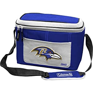 NFL Baltimore Ravens 12 Can Soft Sided Cooler