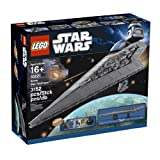 "LEGO Star Wars Super Star Destroyer 10221 (Toy) By LEGO          Buy new: $757.88 68 used and new from $739.95     Customer Rating:       First tagged ""vader"" by DM ""Dave"""