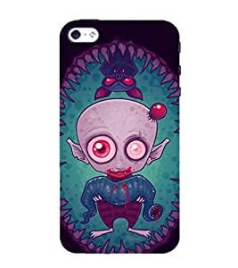 vampire 3D Hard Polycarbonate Designer Back Case Cover for Apple iPhone 5 :: Apple iPhone 5