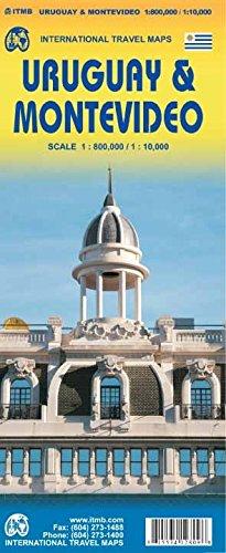 Uruguay / Montevideo Travel Reference 1:800K/1:10K ITMB