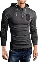 Black Hills Slim Fit Hoodie Kapuzenpullover Sweatshirt, BH132