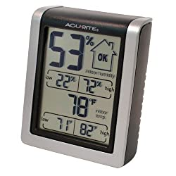 AcuRite 613 Indoor Humidity Monitor