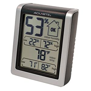 AcuRite 00613 Indoor Humidity Monitor