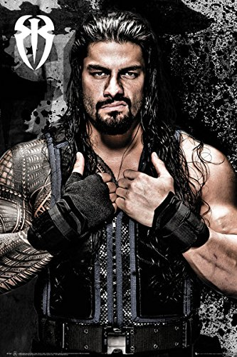 WWE - catch \ Roman Reigns - 61 x 91,5 cm - Poster/Poster