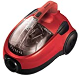 Zanussi ZAN1832 Bagless Cylinder Vacuum Cleaner, Red