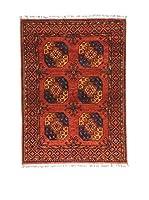Eden Carpets Alfombra Ersari Rojo/Azul 202 x 147 cm