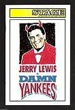 "Jerry Lewis ""DAMN YANKEES"" Dennis Kelly / Jamie Ross 1997 Detroit Playbill"