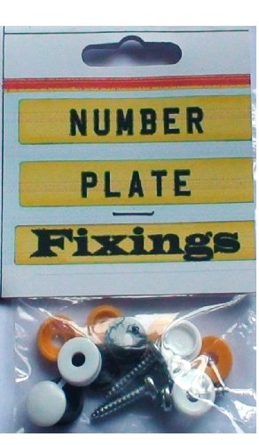 Number Plate Fixing Kit