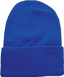 True Gear Cold Weather Beanie Ski Cap (Royal Blue)