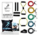 51encgrgW4L. SL160  14 Pcs of Gym323® 226lbs of Extreme Resistance Band Set for Men And Women