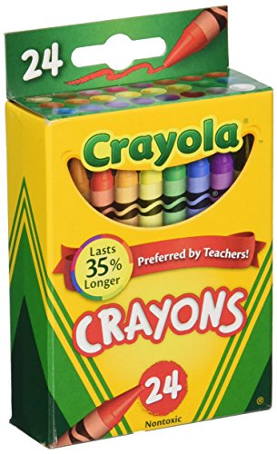 Crayola Box of Crayons Non-Toxic