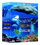 Jean-Michel Cousteau's Film Trilogy (Dolphins & Whales/Sharks/Ocean Wonderland Blu-ray 3D + Blu-ray)