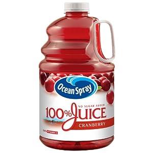 Ocean Spray 100% Juice - Cranberry Flavor - 1 gallon