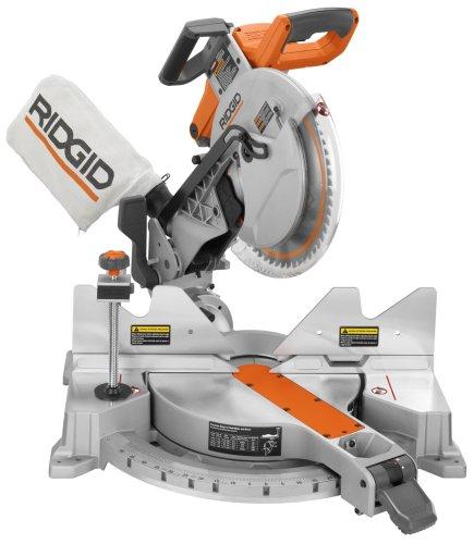 Best miter saws ridgid r4121 27273 12 inch dual compound for 12 inch ridgid table saw