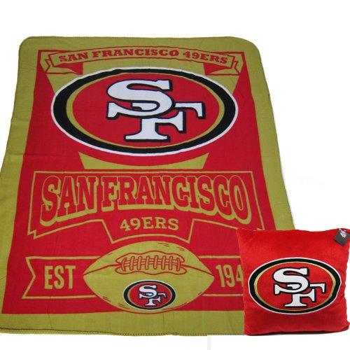 49ers Blanket Fleece front-1048493