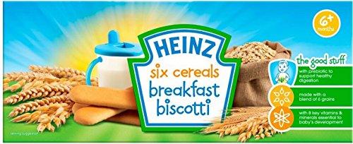 Heinz Six Cereals Breakfast Biscotti 6Mth+ (160G) front-884726