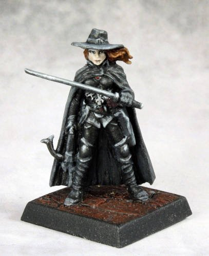 Pathfinder Vampire Hunter Miniature Reaper - 1